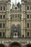 Detalhe de fachada da igreja românico Foto de Stock