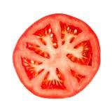 Detalhe de fatia do tomate Imagem de Stock