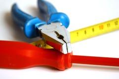Detalhe de ferramentas principais da mão Foto de Stock