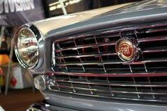 Detalhe de Fiat do Oldtimer Fotografia de Stock Royalty Free