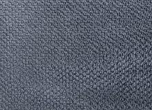 Detalhe de Gray Cotton Towel Texture Background Fotos de Stock Royalty Free