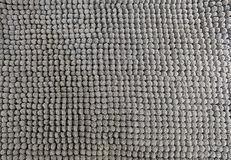 Detalhe de Gray Fluffy Fabric Texture Background imagens de stock royalty free