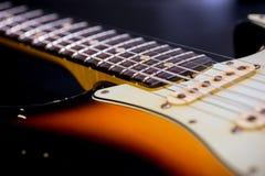 Detalhe de guitarra do vintage Fotografia de Stock Royalty Free