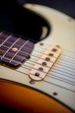 Detalhe de guitarra do vintage Fotos de Stock Royalty Free