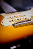 Detalhe de guitarra do vintage Imagens de Stock Royalty Free