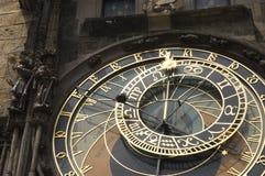 Detalhe de horologue Fotos de Stock Royalty Free