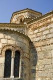 Detalhe de igreja bizantina em Corfu Fotos de Stock Royalty Free