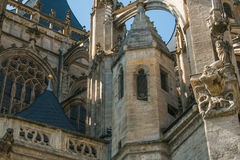 Detalhe de igreja de Barbara de Saint de Kutna Hora Foto de Stock Royalty Free
