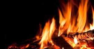 Detalhe de incêndio. fotografia de stock