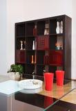 Detalhe de interior moderno do drawing-room Fotos de Stock