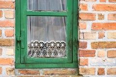 Detalhe de janela do vintage Fotografia de Stock Royalty Free