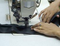 Detalhe de máquina de costura Fotografia de Stock