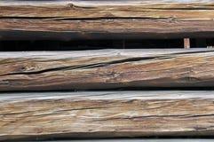 Detalhe de madeira 1 do balk Foto de Stock Royalty Free