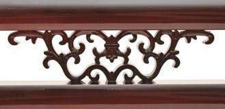 Detalhe de madeira cinzelado Imagens de Stock Royalty Free