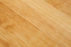 Detalhe de madeira do entabuamento do assoalho da madeira que mostra a grão Fotografia de Stock Royalty Free