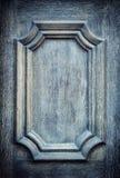 Detalhe de madeira velho da porta Foto de Stock