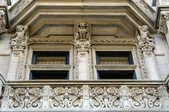Detalhe de mansão elaborada Fotos de Stock