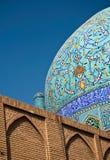 Detalhe de mesquita isfahan Irã fotografia de stock royalty free
