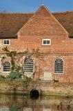 Detalhe de moinho de água Foto de Stock Royalty Free