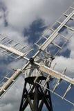 Detalhe de moinho de vento velho, Norfolk Broads Fotografia de Stock