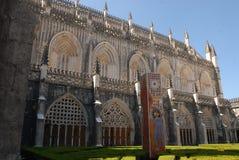 Detalhe de monastério de Batalha em Portugal Fotos de Stock Royalty Free