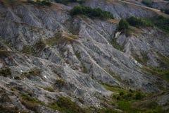 Detalhe de montes da rocha Fotos de Stock