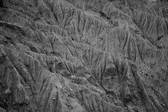 Detalhe de montes da rocha Foto de Stock Royalty Free