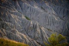 Detalhe de montes da rocha Fotos de Stock Royalty Free
