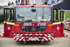 Detalhe de motor de incêndio britânico Fotos de Stock