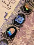 Detalhe de nota de banco Fotografia de Stock Royalty Free