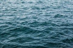 Textura do oceano Foto de Stock