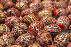 Easter pintou egss Fotografia de Stock