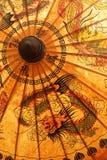 Detalhe de pára-sol fotografia de stock