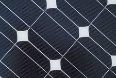 Detalhe de painel solar Imagem de Stock Royalty Free