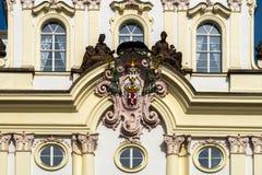 Detalhe de palácio em Hradcany Imagem de Stock