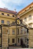 Detalhe de palácio em Hradcany Imagem de Stock Royalty Free