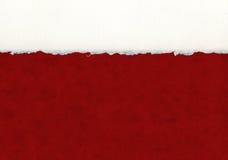 Detalhe de papel Deckled Imagem de Stock Royalty Free