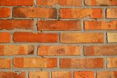 Detalhe de parede de tijolo velha do vintage Fotografia de Stock