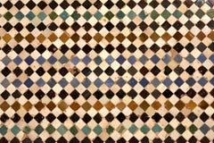 Detalhe de paredes cerâmicas Fotos de Stock Royalty Free