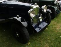 Detalhe de parte dianteira do carro do vintage Foto de Stock Royalty Free