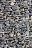 Detalhe de pedra da cerca Fotos de Stock Royalty Free