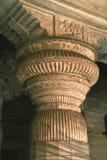 Detalhe de pedra da coluna Imagens de Stock