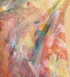 Detalhe de pintura acrílica Imagens de Stock Royalty Free