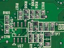 Detalhe de placa do circuito integrado Fotografia de Stock Royalty Free