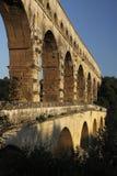 Detalhe de Pont du gard Imagem de Stock Royalty Free