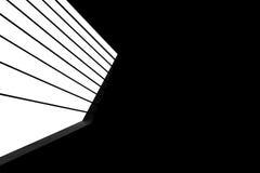 Detalhe de ponte em preto e branco Imagens de Stock