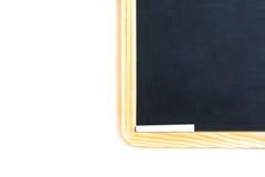 Detalhe de quadro-negro da escola com giz Fotografia de Stock Royalty Free