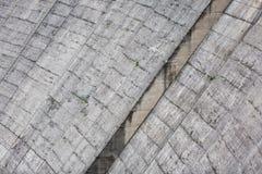 Detalhe de represa velha Imagem de Stock Royalty Free