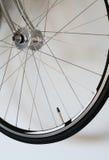 Detalhe de roda de bicicleta Fotografia de Stock Royalty Free