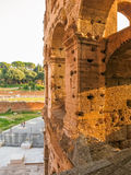 Detalhe de Roman Colosseum foto de stock royalty free